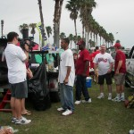 Tailgating in Orlando, Fl in the 2007 Capital One Bowl vs. Wisconsin